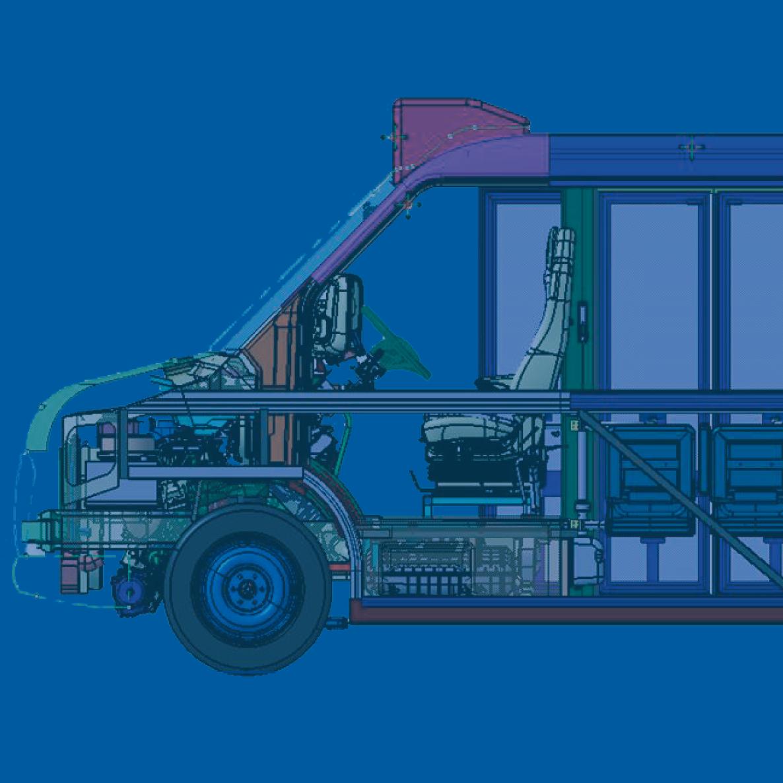 LF-40 Low Floor Medium Bus